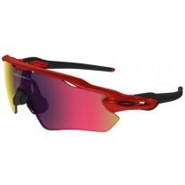 Oakley Sunglasses Radar EV Path Prizm Polishing Red Black Frame Red Black Lens