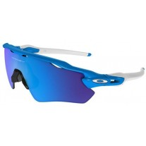 Oakley Sunglasses Radar EV Path Prizm Polishing Blue White Frame Blue Mercury Lens