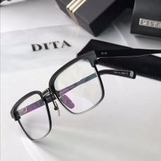 Dita DRX-2076 Sunglasses Square Half Frame All Black