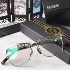 Dita DRX-2076 Sunglasses Square Half Frame Silver Frame