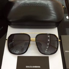 Men's Dolce & Gabbana Sunglasses D2610 Gold Black