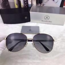 Men's Mercedes-Benz Eyewear Black Lenses Gold Frame