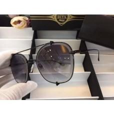Men's Women's Dita Aviator Gradient Sunglasses Black