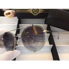 Men's Women's Dita Aviator Gradient Sunglasses Light Black