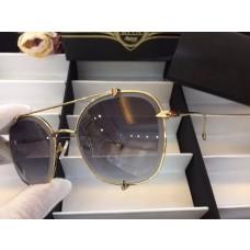 Men's Women's Dita Aviator Gradient Sunglasses Light Grey
