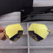 Percy Lau Dada Child Hexagon Sunglasses Yellow Lenses
