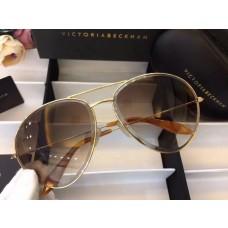 Victoria Beckham Classic Aviator sunglasses VB0361 Gold Brown