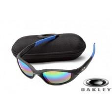 Fake Oakley Straight Jacket Sunglasses Black Frame Colorful Lens OAKLEY201567196