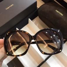 Womens Tom Ford Sunglasses Black Brown