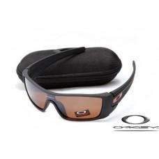 Oakley Batwolf Sunglasses Matte Black / Brown