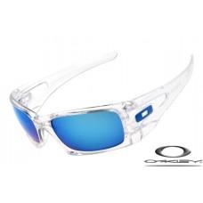Oakley Crankcase Sunglasses Clear / Blue
