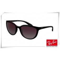 Ray Ban Erika RB4274 Sunglasses Black Frame Grey Lens