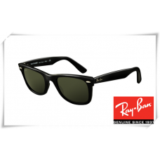 Ray Ban RB2140 Original Wayfarer Sunglasses Black Frame Grey Lens
