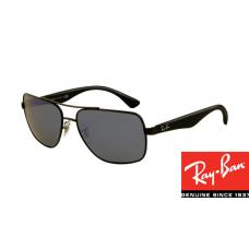 Ray Ban RB3483 HighStreet Sunglasses Black Frame Grey Lens