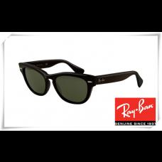 Ray Ban RB4169 Laramie Sunglasses Black Frame Green Lens