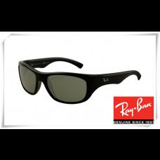 Ray Ban RB4177 Sunglasses Black Frame Grey Lens