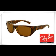 Ray Ban RB4177 Sunglasses Tortoise Frame Brown Lens