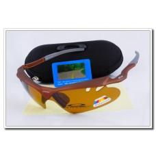 Sale Oakley m frame Polarized Sunglasses for cheap Chocolate Frame tawny Iridium Lens