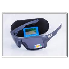 Cheap Fake Oakley Eyepatch Polarized Sunglasses stone blue Frame Slate grey Iridium Lens Sale