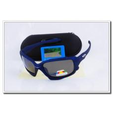 Cheap Fake Oakley Jawbone Polarized Sunglasses RoyalBlue Frame Slate grey Iridium Lens Sale