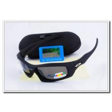 Cheap Fake Oakley monster pup Polarized Sunglasses Black Frame Slate grey Iridium Lens Sale