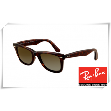 Ray Ban RB2140 Original Wayfarer Sunglasses Tortoise Frame Natural Brown Lens