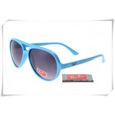 Ray Ban RB4125 Cats 5000 Sunglasses Polishing Blue Frame Grey Geadient Lens