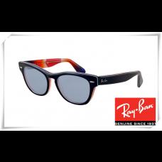 Ray Ban RB4169 Laramie Sunglasses Polishing Black Frame Light Blue Lens