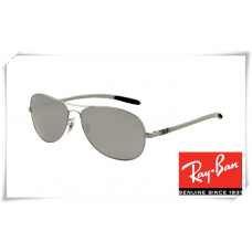 Ray Ban RB8301 Tech Sunglasses Gunmetal Frame Light Grey Lens