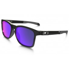Oakley Catalyst Sunglasses Black Ink Frame Positive Red Iridium Lens