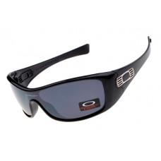 cheap Oakley Antix sunglasses Polished Black / Gray
