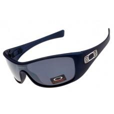 discount Oakley Antix sunglasses Matte Blue / Gray