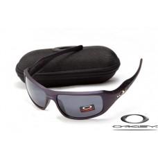 Replica Oakley c six sunglasses Purple Frame Grey Lens on sale