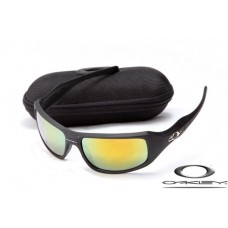 Fake Oakley c six sunglasses Cheap Wholesale Matte Black / Fire