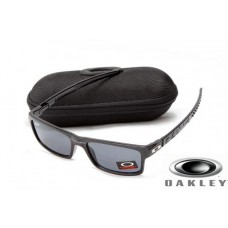 fake oakley currency sunglasses Black Frame Gray Lens OAKLEY201567313