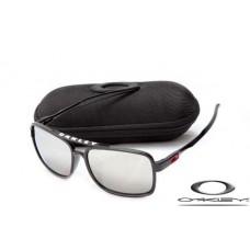 Oakley Deviation Sunglasses polishing black frame white iridium Lens OAKLEY20156051