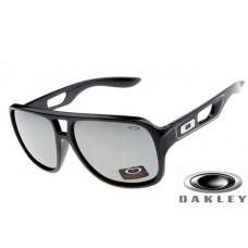 fake oakley dispatch II sunglasses Polishing Black Frame Silver Lens OAKLEY201567297