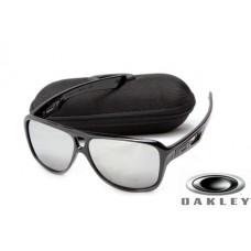 fake oakley dispatch II sunglasses Polishing Black Frame Silver Lens OAKLEY201567298