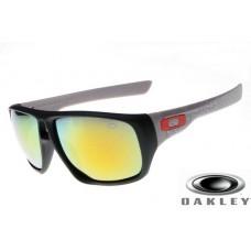 fake oakley dispatch sunglasses Black Frame Fire Yellow Lens OAKLEY201567251