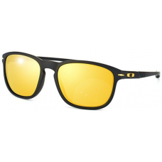 Oakley Enduro Sunglasses Matte Black Frame 24K Iridium Lens