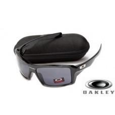 fake oakley eyepatch sunglasses Polishing Black Frame Gray Lens OAKLEY201567378
