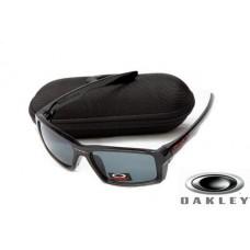 fake oakley eyepatch sunglasses Polishing Black Frame Gray Lens OAKLEY201567375