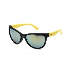 Oakley Forehand Women's Sunglasses Black Yellow Frame Blue iridium Lens