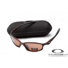 Oakley Hatchet Wire Sunglasses Brown Frame Brown Iridium Lens OAKLEY20156067