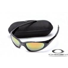 Oakley Minute Sunglasses Polishing Black Frame Yellow Iridium Lens OAKLEY20156081