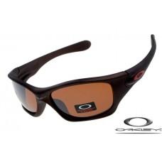 Oakley Pit Bull Sunglasses Frosting Brown Frame Brown Iridium Lens OAKLEY20156100