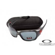 Oakley Script Sunglasses Polishing Black Frame Gray Iridium Lens OAKLEY20156104