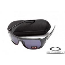 Oakley Sideways Sunglasses Polishing Black Frame Gray Iridium Lens OAKLEY20156105