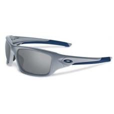 Oakley Valve Sunglasses Silver Frame Dark Silver Lens