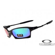 Oakley X Squared Sunglasses Polishing Black Frame Blue Iridium Lens OAKLEY20156097
